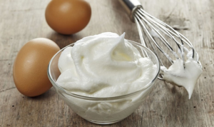 whipped egg whites