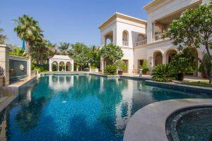 a villa in Dubai