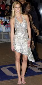 Britney Spears in her revenge dress