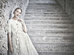 delicate look on royal wedding