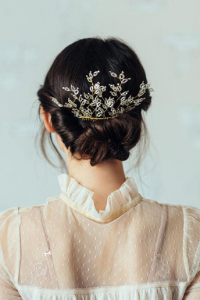 հարսնացուի խառը հավաքված մազեր` նոր հարսանյաց թրենդ