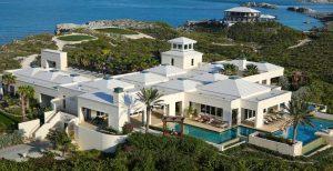 a villa in Bahamas