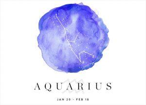 aquarius - horoscope sign