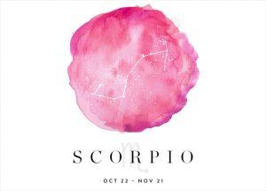 scorpio - zodiac sign