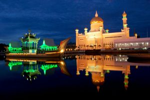 Brunei - one of the richest countries