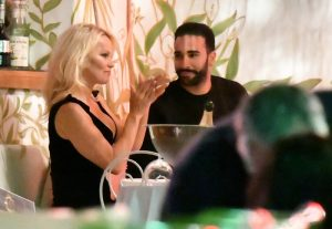 Pamela Anderson and her boyfriend