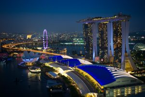 Singapore - one of the richest countries